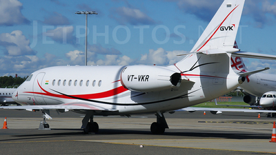 VT-VKR - Dassault Falcon 2000DX - Private