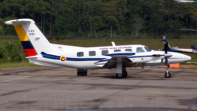 FAC5743 - Piper PA-42-720 Cheyenne III - Colombia - Air Force