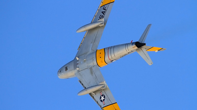 N860AG - North American F-86F Sabre - Private