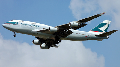 B-HOZ - Boeing 747-467(BCF) - Cathay Pacific Airways