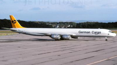 D-ADUC - Douglas DC-8-73(F) - German Cargo