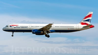 G-EUXM - Airbus A321-231 - British Airways
