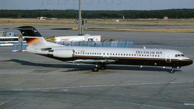 F-GIOF - Fokker 100 - Deutsche BA