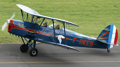 F-GKEB - Stampe and Vertongen SV-4C - Private