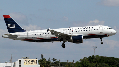 N126UW - Airbus A320-214 - US Airways