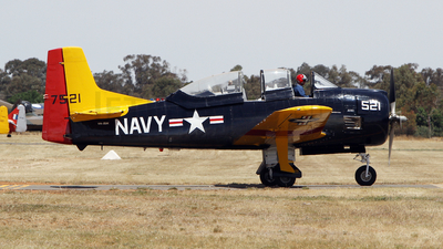 VH-ZUK - North American T-28D Trojan - Private