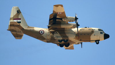 1277 - Lockheed C-130H Hercules - Egypt - Air Force