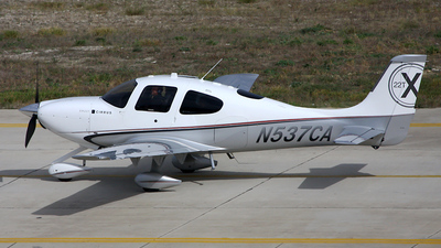 N537CA - Cirrus SR22T - Private