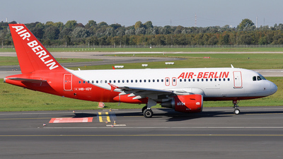 HB-IOY - Airbus A319-111 - Air Berlin (Belair Airlines)