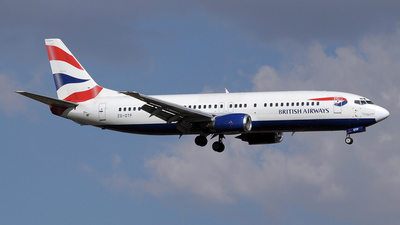 ZS-OTF - Boeing 737-436 - British Airways (Comair)