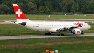 HB-IQH - Airbus A330-223 - Swiss