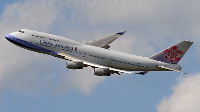 N168CL - Boeing 747-409 - China Airlines