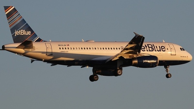 N632JB - Airbus A320-232 - jetBlue Airways