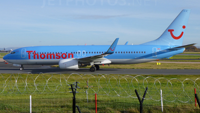 G-TAWB - Boeing 737-8K5 - Thomson Airways