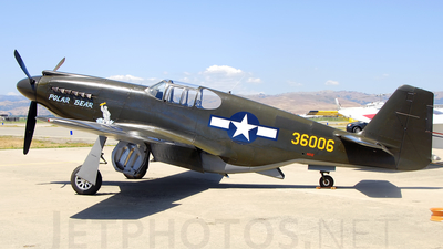 N51Z - North American P-51A Mustang - Private