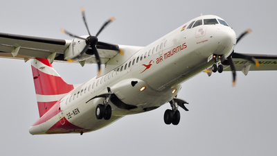 3B-NBN - ATR 72-212A(500) - Air Mauritius