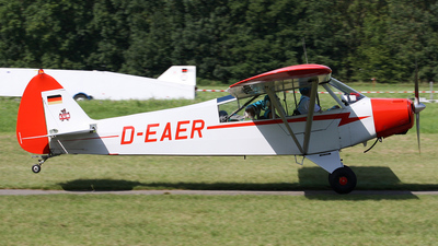 D-EAER - Piper PA-18 Super Cub - Private