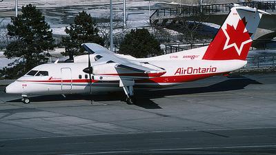 C-FGQI - Bombardier Dash 8-102 - Air Ontario