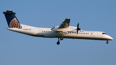 N356NG - Bombardier Dash 8-Q402 - United Express (Colgan Air)