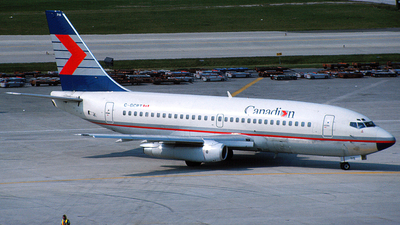 C-GCPT - Boeing 737-217(Adv) - Canadian Airlines International