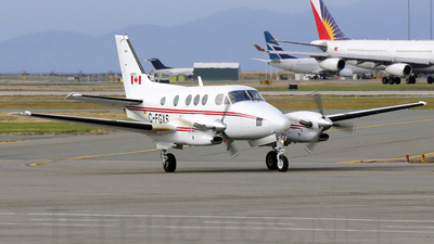 C-FGXS - Beechcraft C90A King Air - Canada - Department of Transport