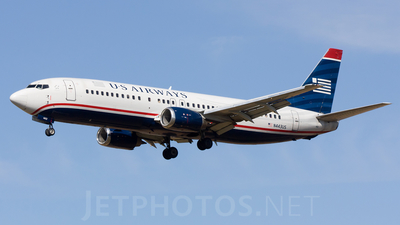 A picture of N443US - Boeing 7374B7 - [24842] - © Conor Clancy