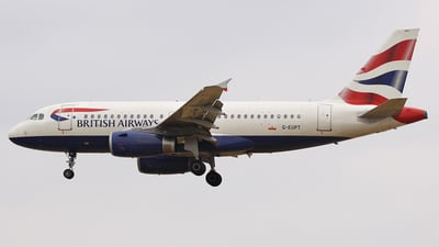 G-EUPT - Airbus A319-131 - British Airways