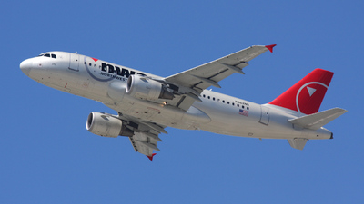 N362NB - Airbus A319-114 - Northwest Airlines