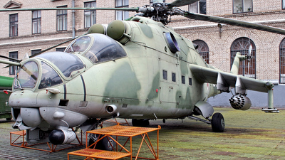 01 - Mil Mi-24V Hind E - Belarus - Air Force