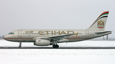 A6-EID - Airbus A319-132 - Etihad Airways
