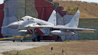 32 - Mikoyan-Gurevich MiG-29 Fulcrum - Ukraine - Air Force
