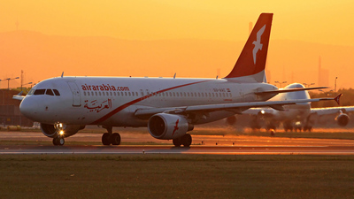 SU-AAC - Airbus A320-214 - Air Arabia Egypt