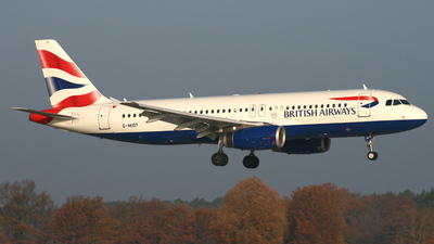 G-MIDT - Airbus A320-232 - British Airways