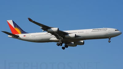 RP-C3430 - Airbus A340-313X - Philippine Airlines