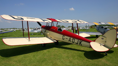A picture of GAOJK - De Havilland DH82 Tiger Moth - [82813] - © Martin Hodgson