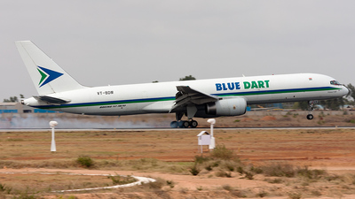 VT-BDM - Boeing 757-23N(PCF) - Blue Dart Aviation