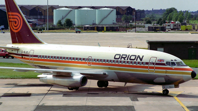 G-BJBJ - Boeing 737-2T5(Adv) - Orion Airways