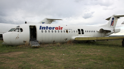 ZS-IJN - Fokker F28-4000 Fellowship - Interair South Africa