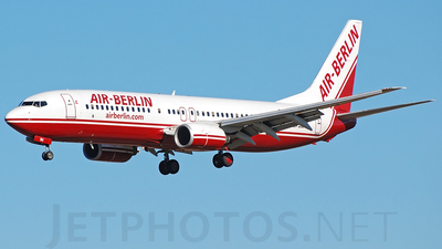 D-ABBU - Boeing 737-8Q8 - Air Berlin