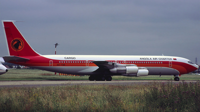 D2-TOK - Boeing 707-324C - Angola Air Charter Cargo