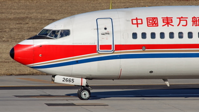 B-2665 - Boeing 737-86R - China Eastern Airlines