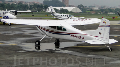 HK-1658-G - Cessna 185A Skywagon - Private
