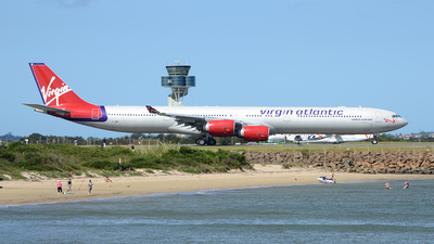 G-VWIN - Airbus A340-642 - Virgin Atlantic Airways