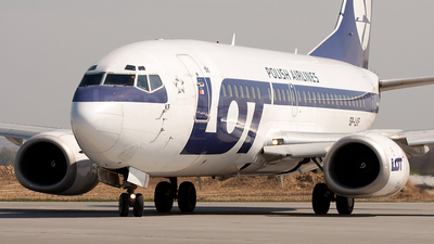 SP-LKF - Boeing 737-55D - LOT Polish Airlines