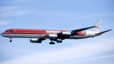 N865F - Douglas DC-8-63(CF) - Emery Worldwide