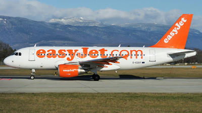 G-EZDT - Airbus A319-111 - easyJet