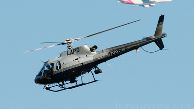 N226LA - Eurocopter AS 350B2 Ecureuil - United States - Los Angeles Police Department (LAPD)