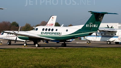 N134WJ - Beechcraft B200 Super King Air - Evergreen Helicopters