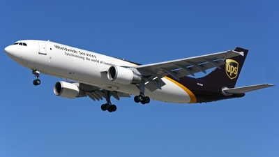 N155UP - Airbus A300F4-622R - United Parcel Service (UPS)