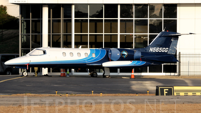 A picture of N565GG - Learjet 35A - [35501] - © Agustin Anaya